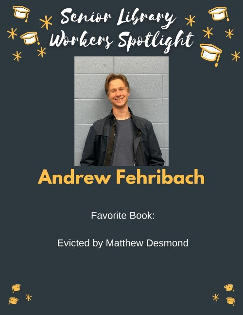 Senior book picks: Andrew Fehribach