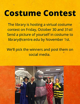 Halloween costume contest graphic