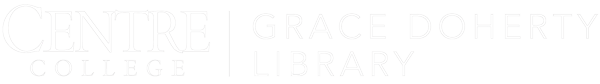 Centre College Grace Doherty Library logo