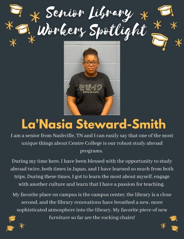 Senior spotlight: La'Nasia Steward-Smith