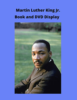 MLK book display