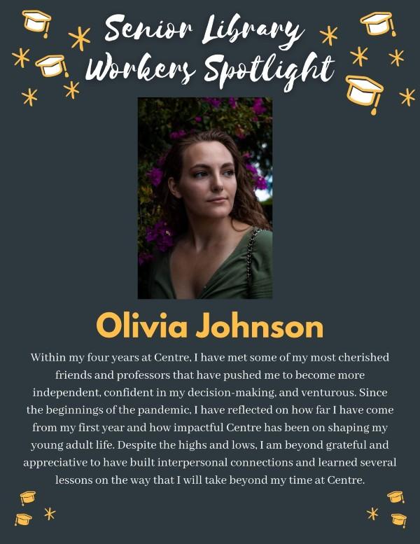 Senior spotlight: Olivia Johnson