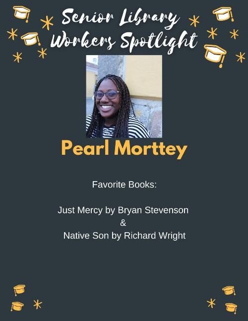 Senior book picks: Pearl Morttey