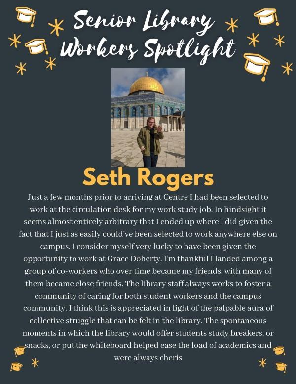 Senior spotlight: Seth Rogers