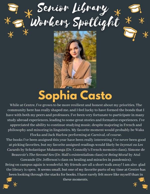 Senior spotlight: Sophia Casto