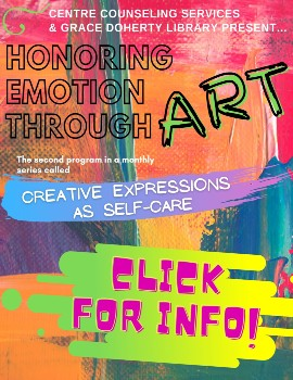workshop on honoring our emotions through art