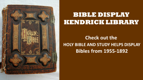 Bible and Biblical Artifacts Display