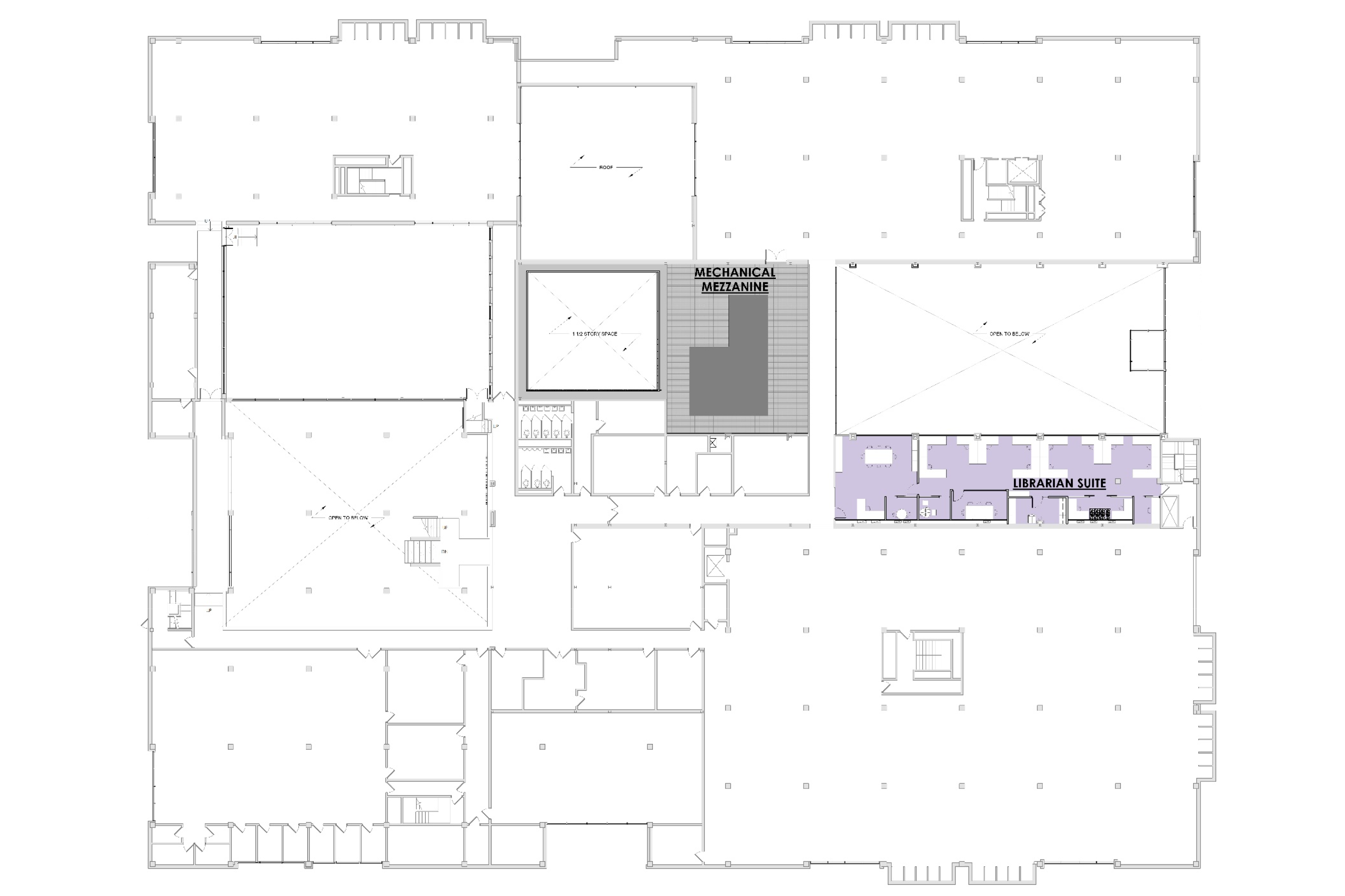Architectural rendering of first floor renovation