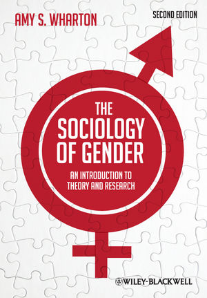 Cover of book, The Sociology of Gender by Amy S. Wharton
