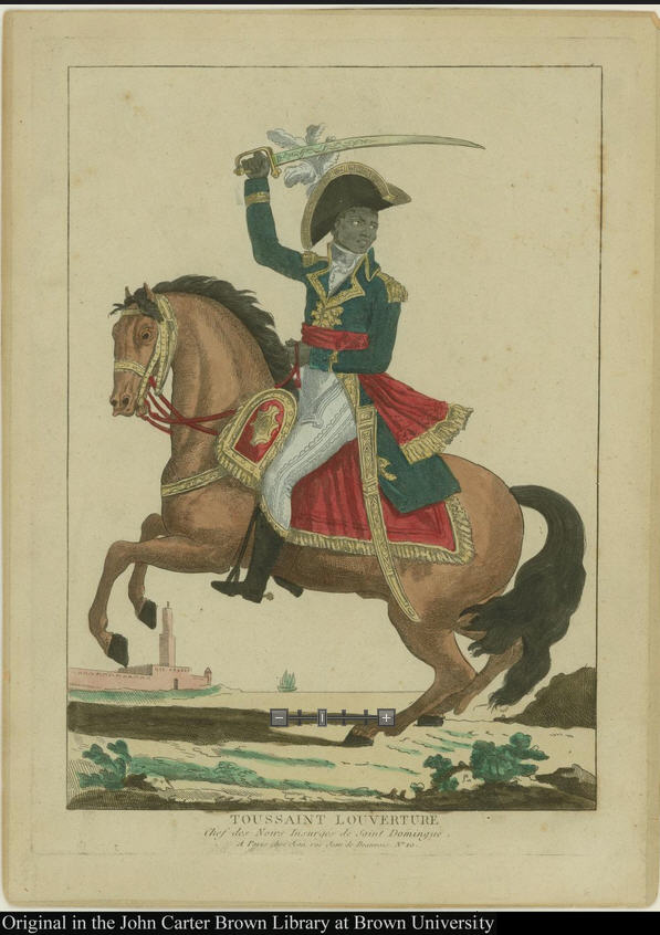 Image of Toussaint Louverture from Brown Library