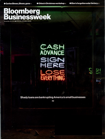 Bloomberg Businessweek Magazine Cover
