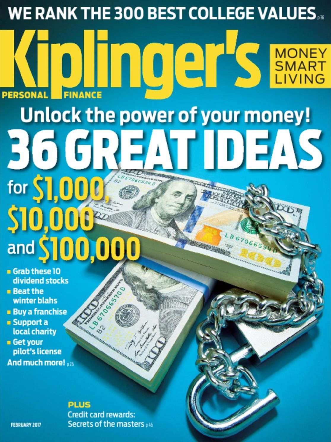Kiplinger's Personal Finance magazine cover