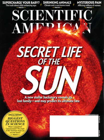 Scientific American magazine cover