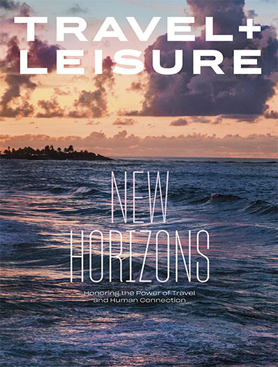 Travel and Leisure magazine cover