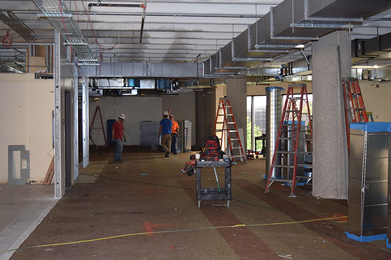 Third floor construction 6