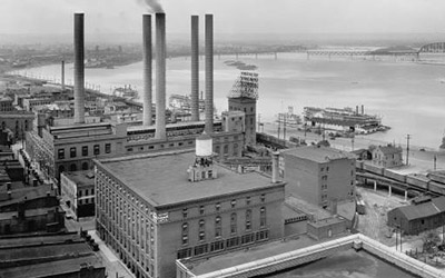 businesses on Louisville waterfront