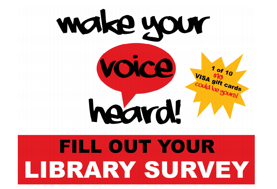 fill out your library survey