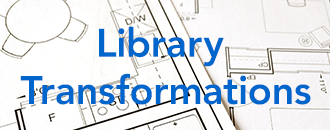 text reads Library Transformations