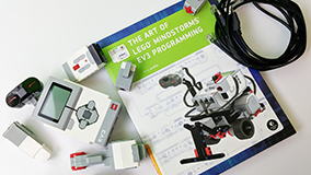 Lego Mindstorms EV3 and book