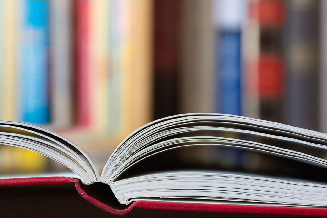 stock image of books
