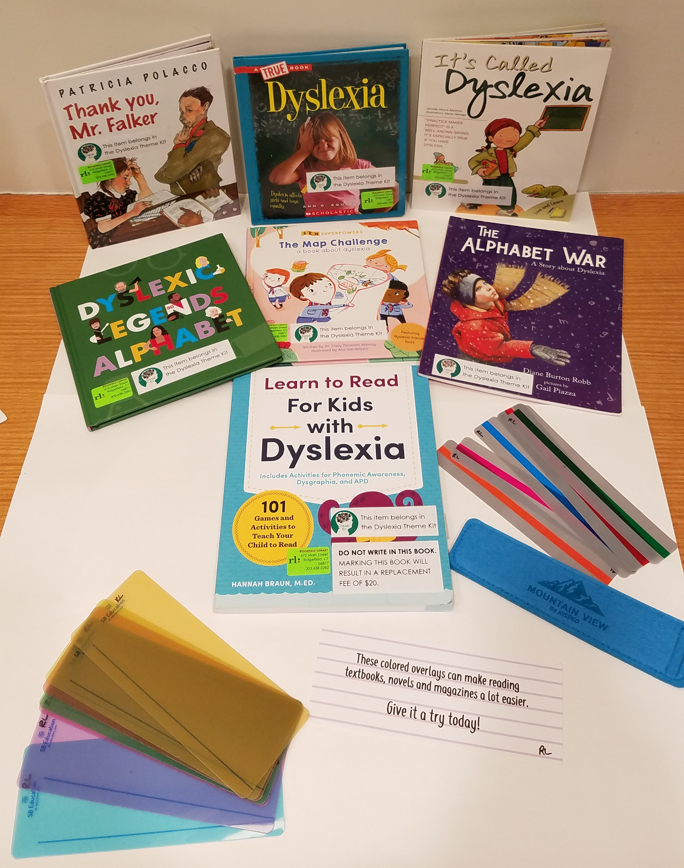 Books and strategies for children with dyslexia