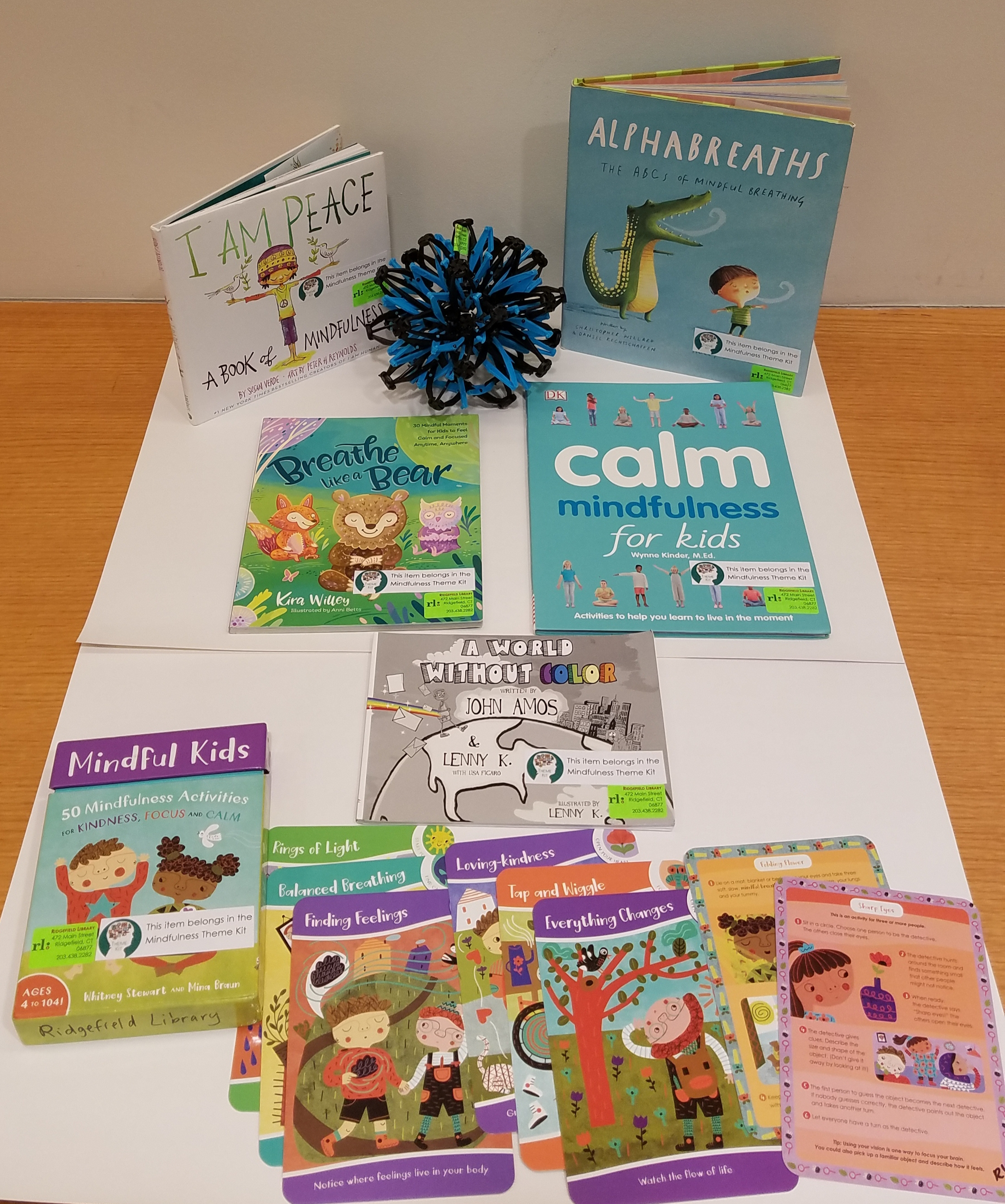 Books and activities for peaceful, thoughtful and empathetic reflection