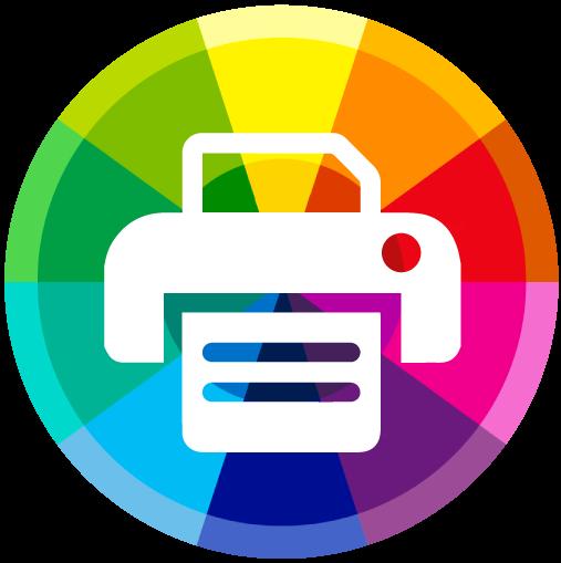 color printing icon