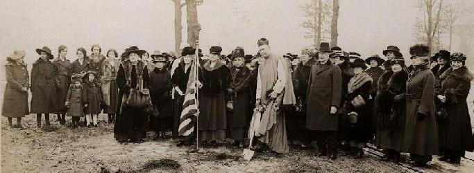 Groundbreaking for Power Hall, 1920