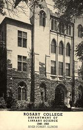 Department of Library Science, 1949-1950