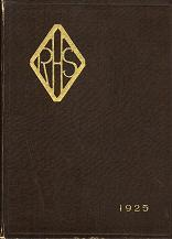 Rosary High School Yearbook, 1925