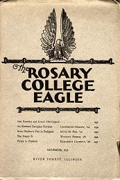 The Rosary College Eagle, November 1924