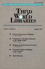 Third world libraries, Summer 1990