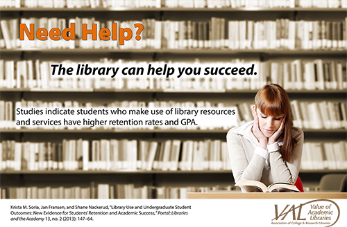 Library help poster