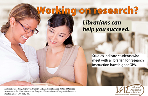 Library research poster