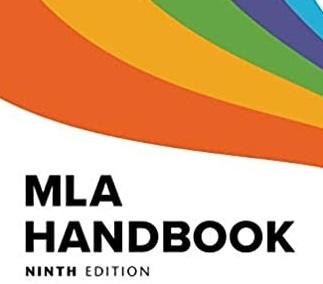 book cover - mla 9th ed