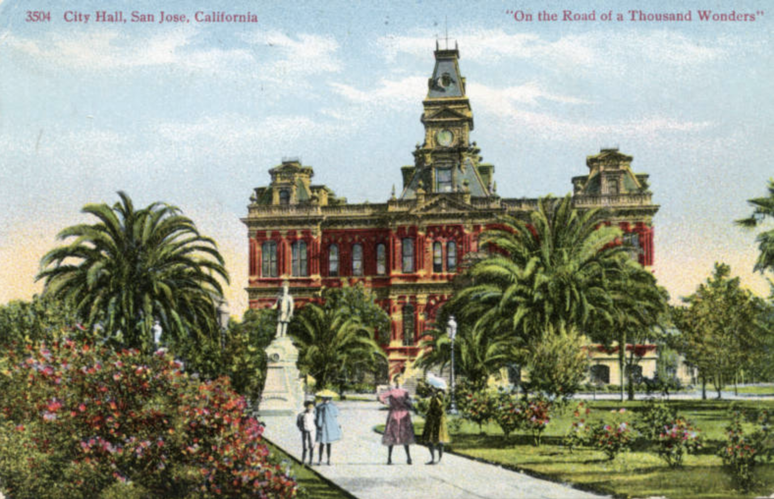 San Jose City Hall circa 1900