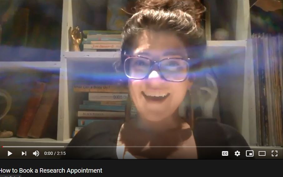 How to Book a Research Appointment