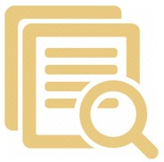Document with Magnifier