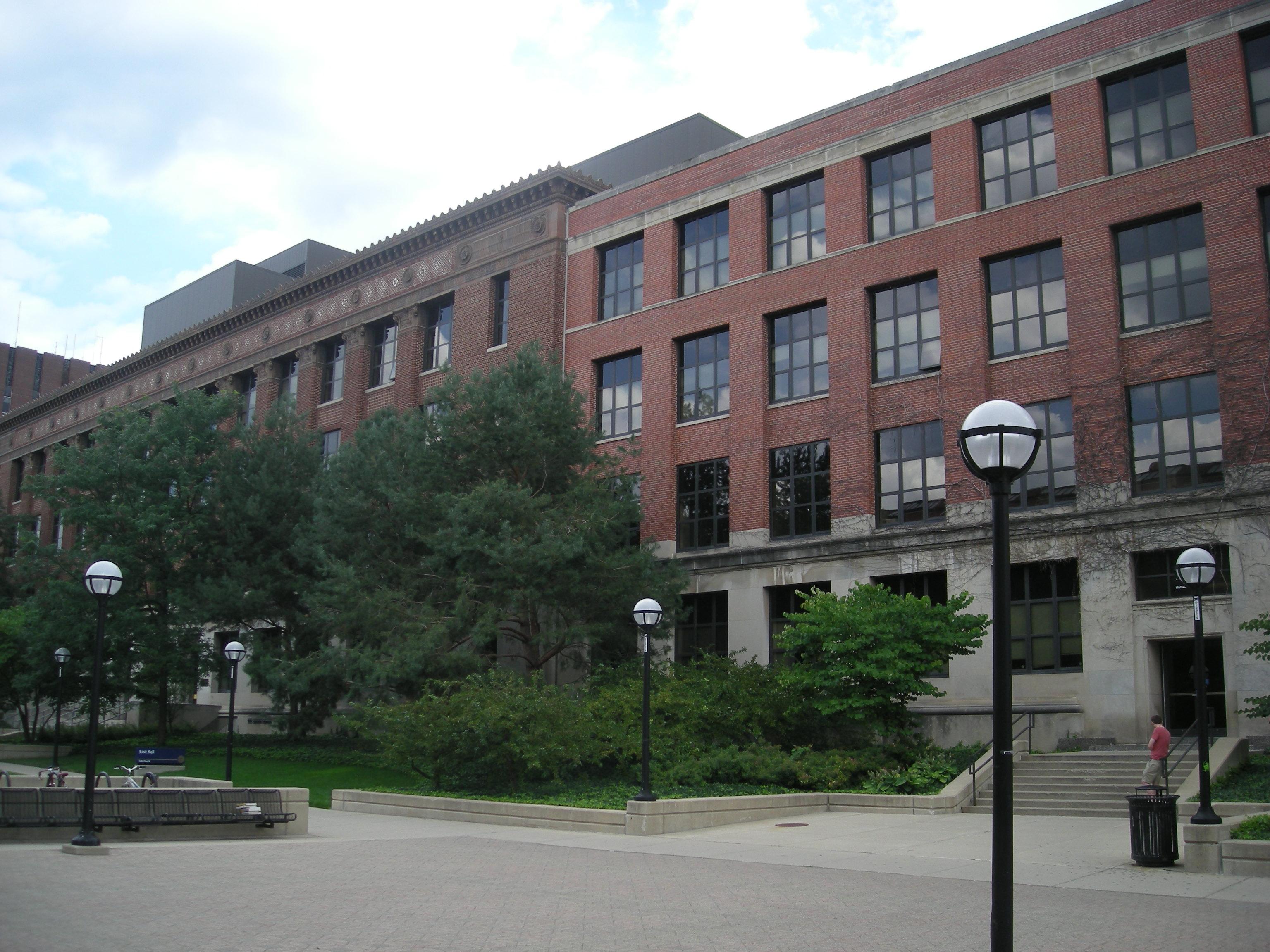 East Hall Exterior