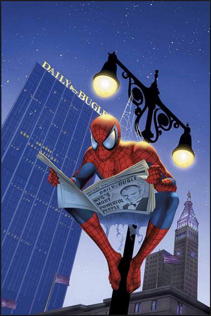 Spiderman Reading