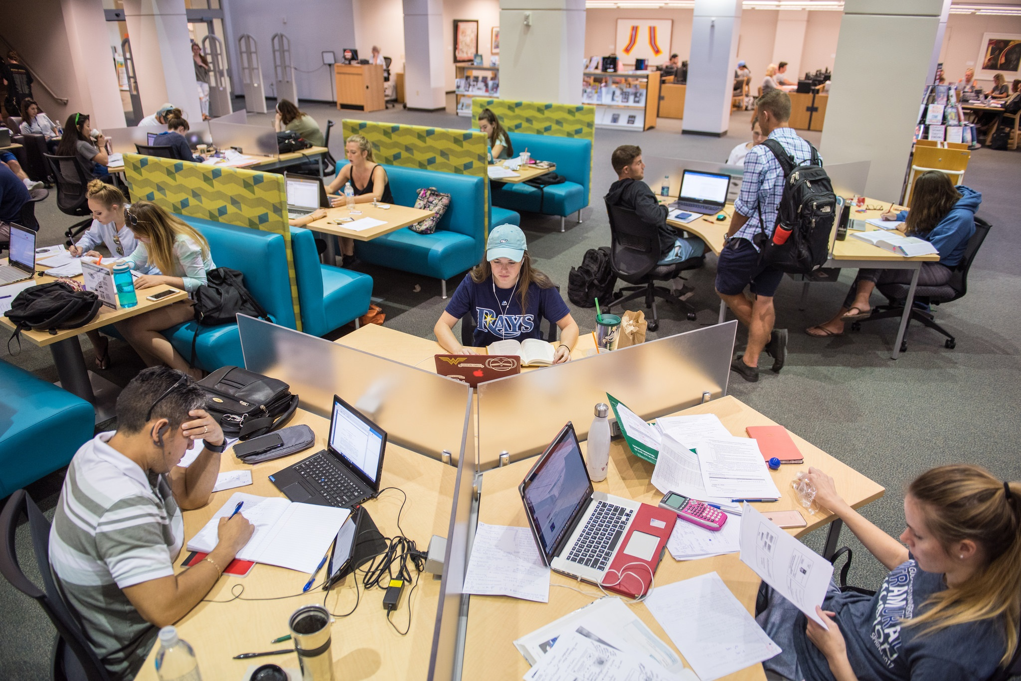 library west common area 1st floor