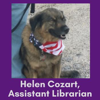 Helen's dog Duncan