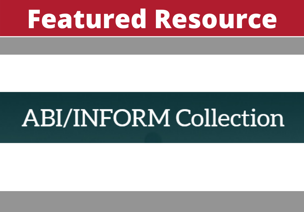 ABI/INFORM Collection Featured Resource