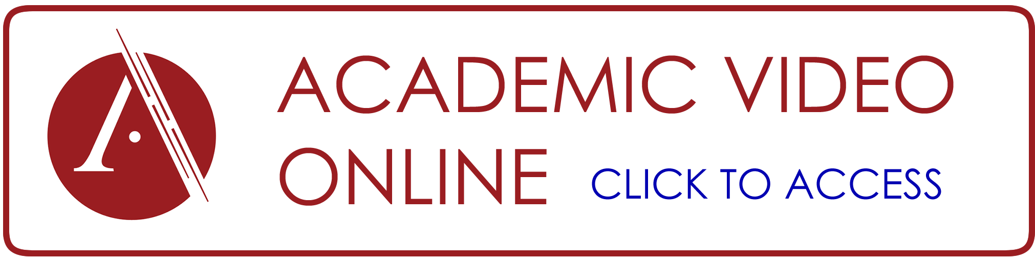 Academic Video Online button