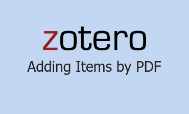Adding Items by PDF Video Tutorial