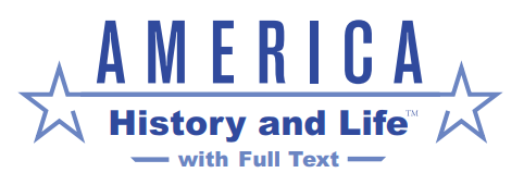 America: History and Life with Full Text Database