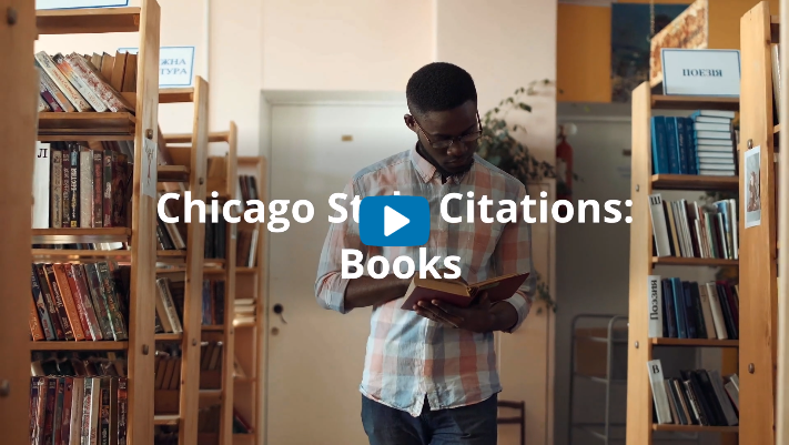 Chicago Style 17th ed. Books and eBooks Video Tutorial