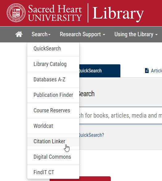 Citation Linker link