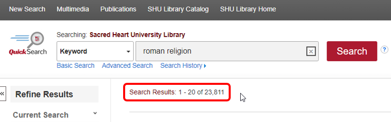 Peer Reviewed limited results numbers for roman religion