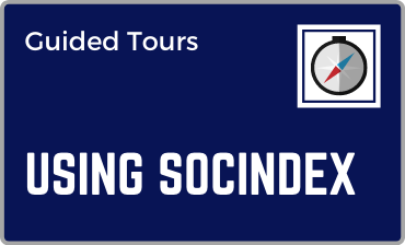 Using SocINDEX with Full Text Guided Tour Tutorial